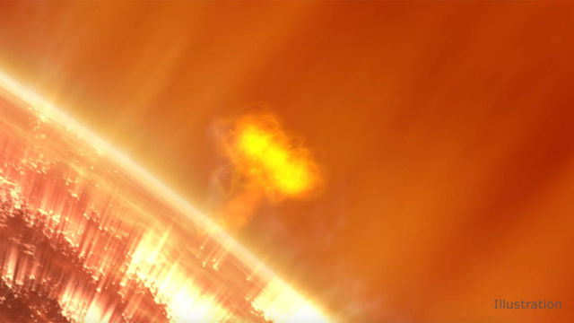 Space mission will study causes of giant Solar Particle Storms