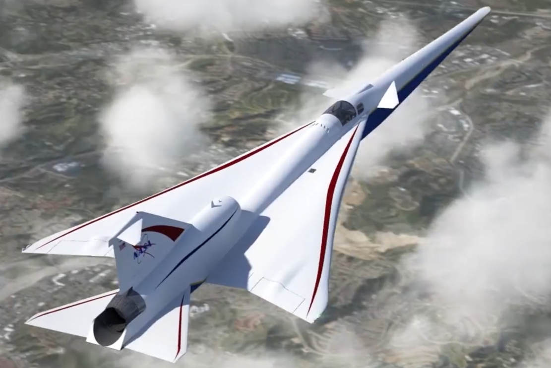 The Making of a Supersonic X-Plane- video