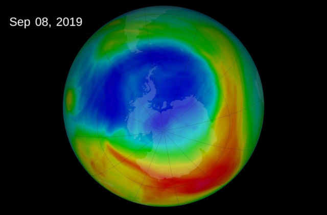 The recovery of the Ozone Layer stops changes in Southern hemisphere Winds