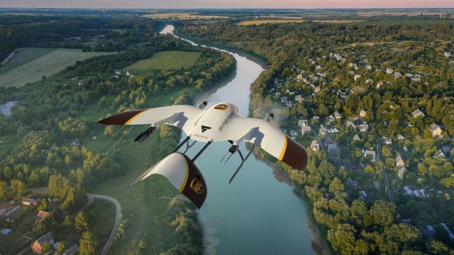 UPS new Delivery Drone