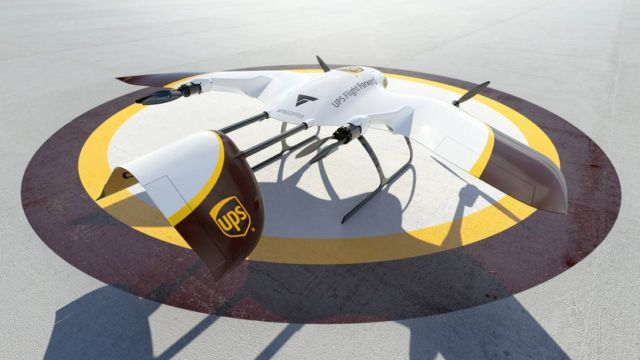 UPS new Delivery Drone (1)