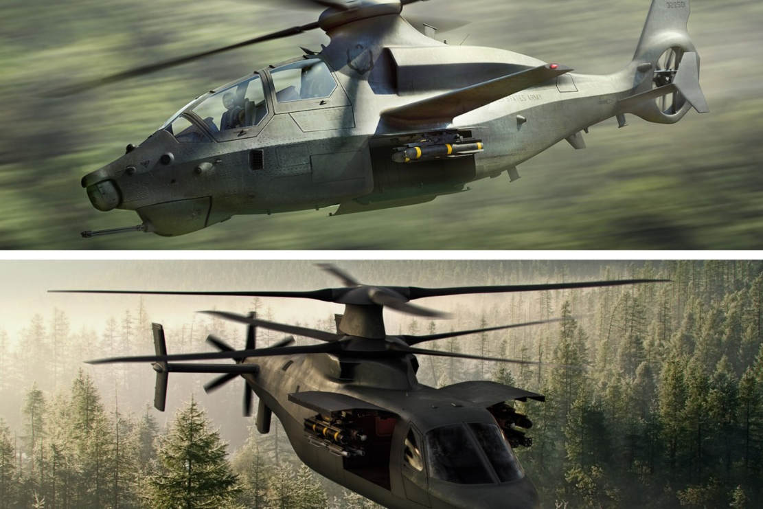 US Army selects two Future Attack Reconnaissance Aircraft prototypes