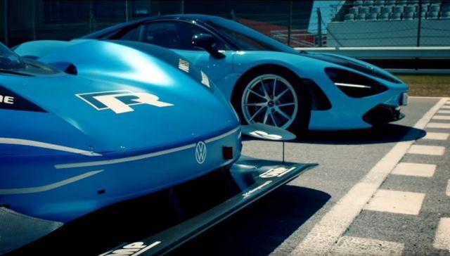 Volkswagen ID.R vs McLaren 720s
