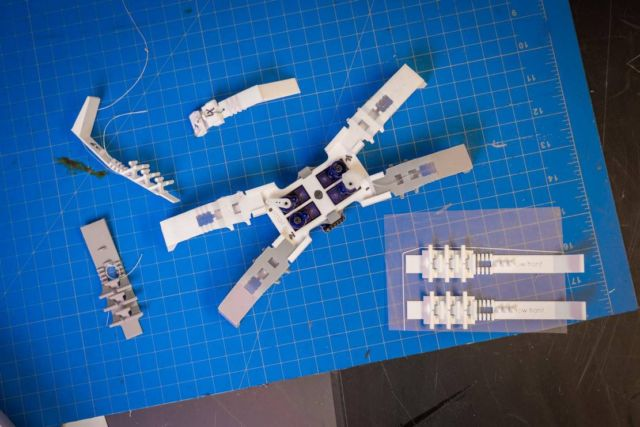 3D printed Insect-like Robots