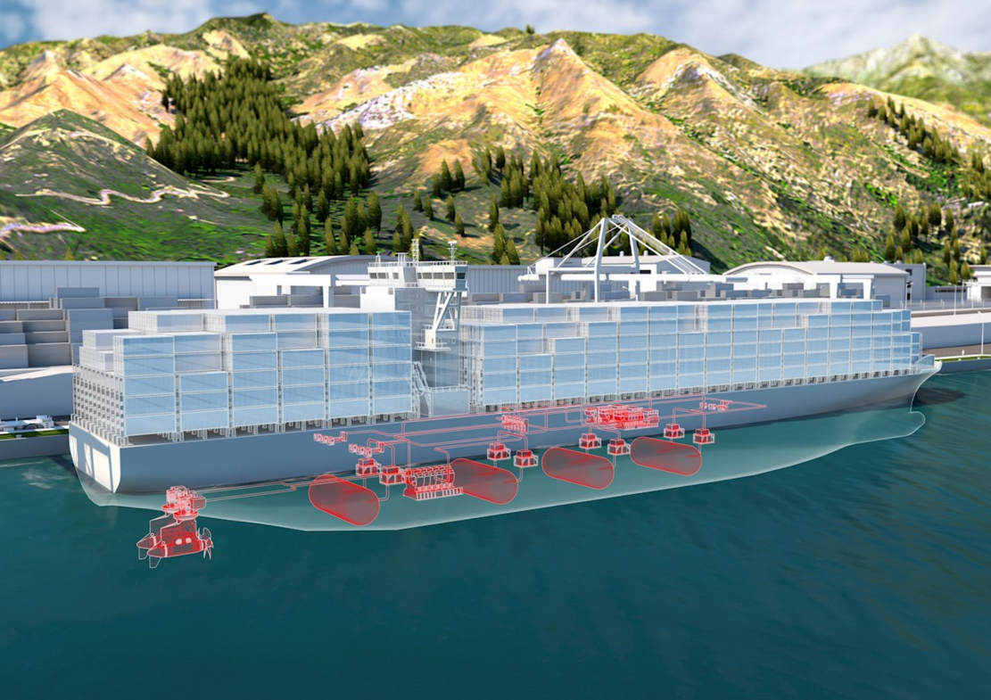 ABB plans giant Hydrogen powered Container Ships