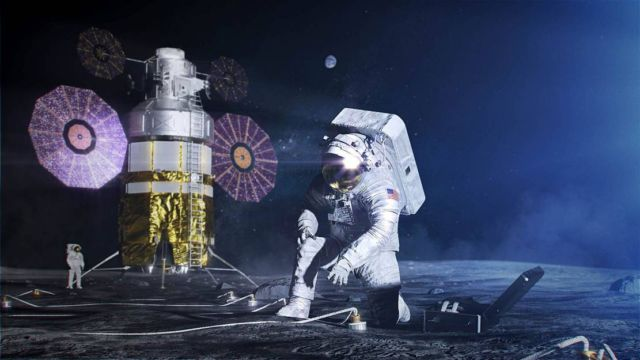 Artemis Base Camp on the Moon