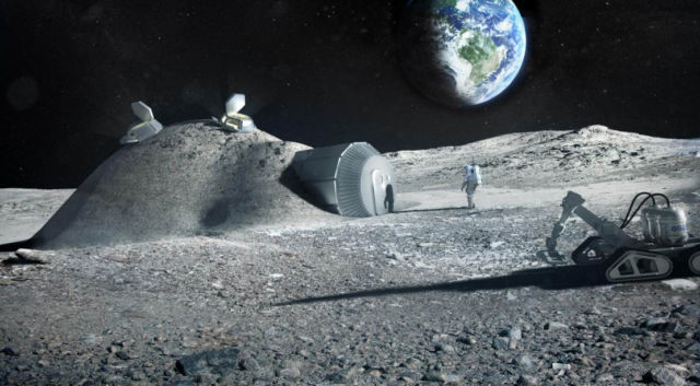 Astronaut urine could help build Moon Bases