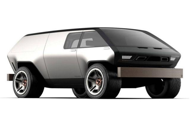 Brubaker Box minivan concept