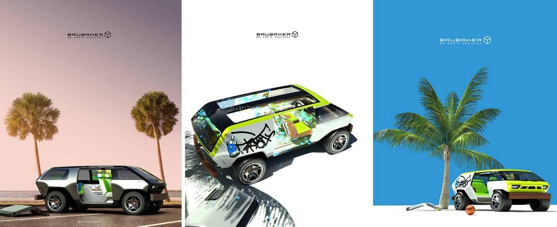 Brubaker Box minivan concept (1)