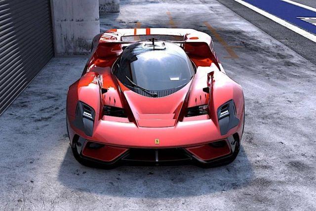 Ferrari F399 Hypercar concept (3)