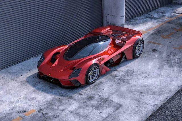 Ferrari F399 Hypercar concept (2)