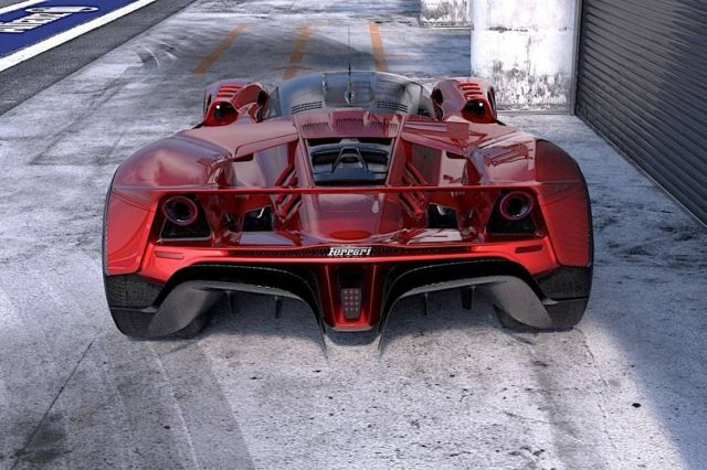 Ferrari F399 Hypercar concept (1)