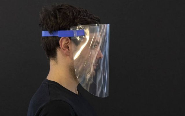Foster + Partners created a reusable face visor (2)