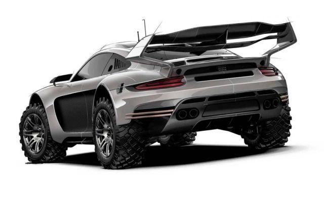 Gemballa Avalanche 4×4 Porsche 911 Coupe