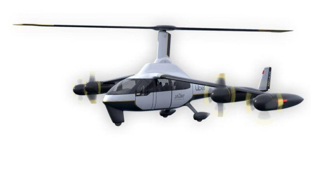 Jaunt's ROSA eVTOL air Taxi (4)