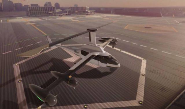 Jaunt's ROSA eVTOL air Taxi (3)