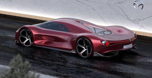 Mazda RX-10 Vision concept