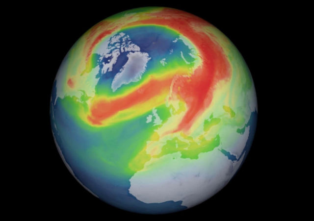 'Record-breaking' Ozone Hole opens over the Arctic