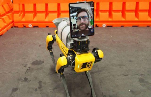 Spot Robot to help doctors treat COVID-19 patients