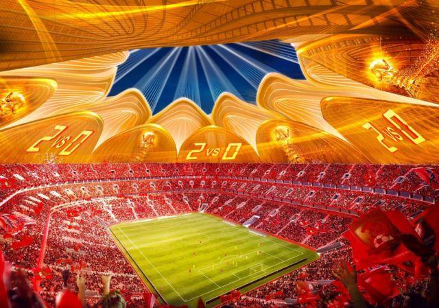 Guangzhou Evergrande Taobao Football Club Stadium (1)