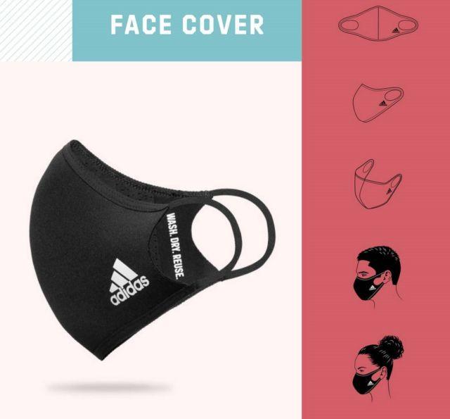 Adidas reusable Face Mask (1)