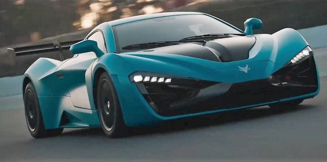 Arcfox GT- China's 1,600-hp all-electric hypercar