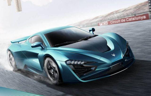 Arcfox GT- China's 1,600-hp all-electric hypercar