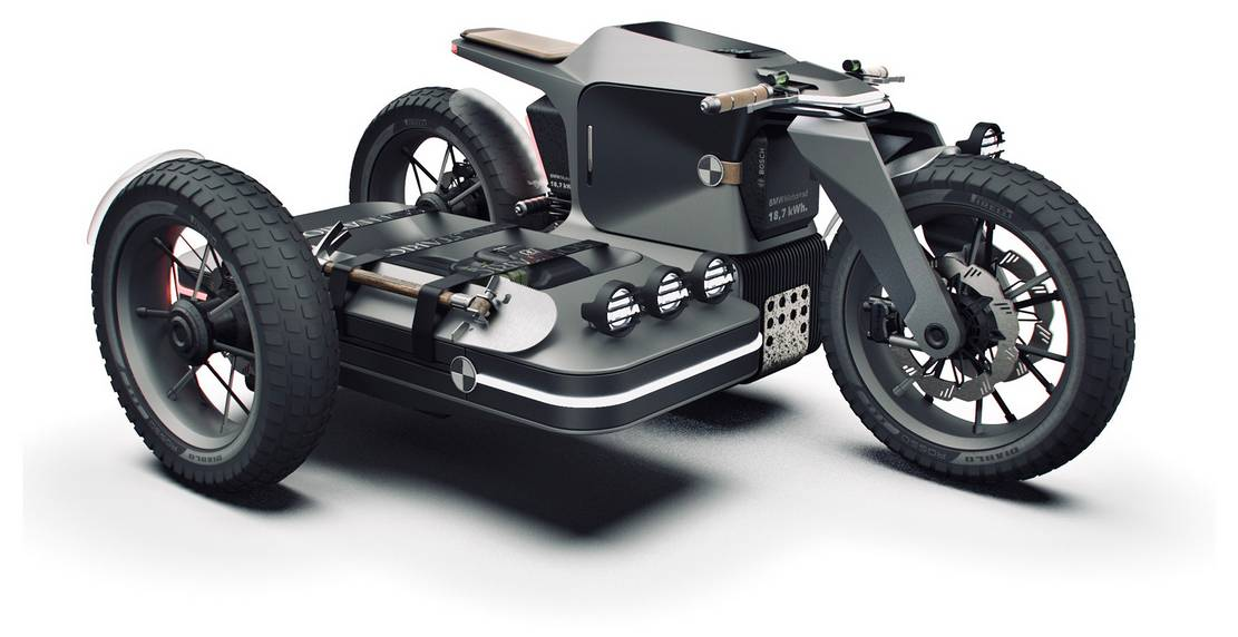 BMW Motorrad x El Solitario MC Off-road Electric motorcycle (7)