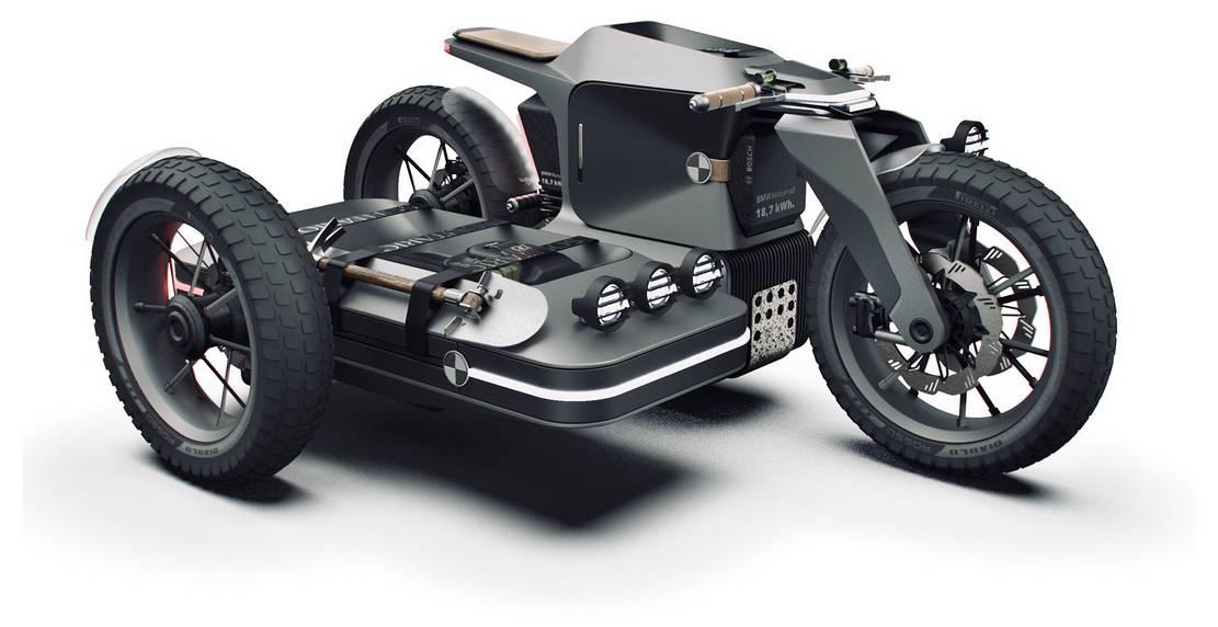 BMW Motorrad x El Solitario MC Off-road Electric motorcycle