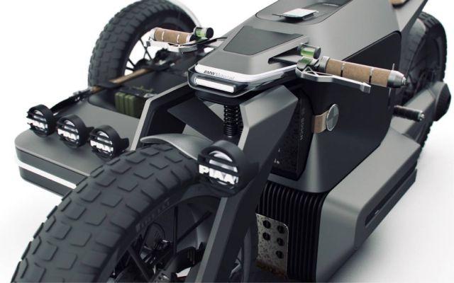 BMW Motorrad x El Solitario MC Off-road Electric motorcycle (4)