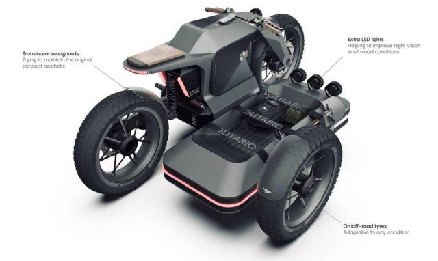BMW Motorrad x El Solitario MC Off-road Electric motorcycle (2)