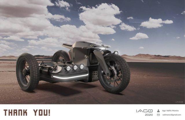 BMW Motorrad x El Solitario MC Off-road Electric motorcycle (1)