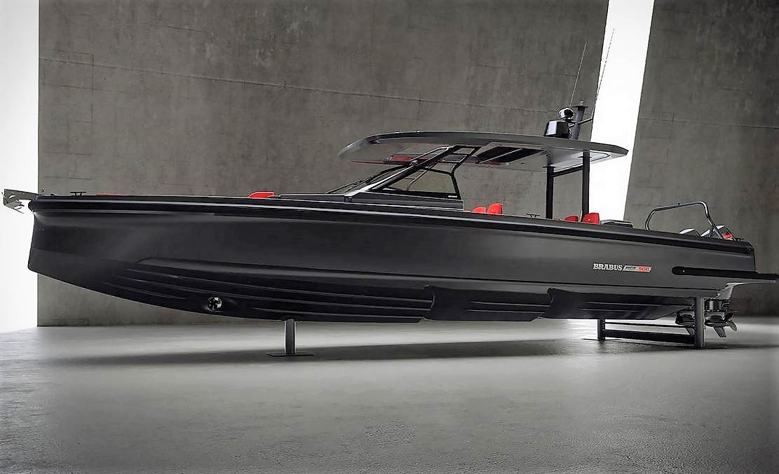 Brabus Shadow 900 Black Ops Boat