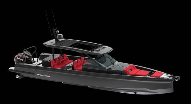 Brabus Shadow 900 Black Ops Boat (1)