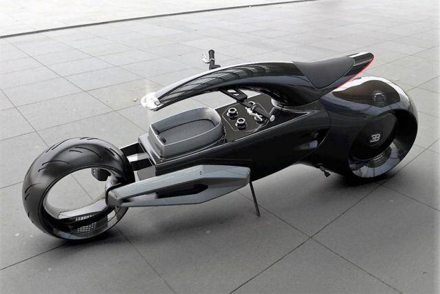 Bugatti Audacieux motorbike concept