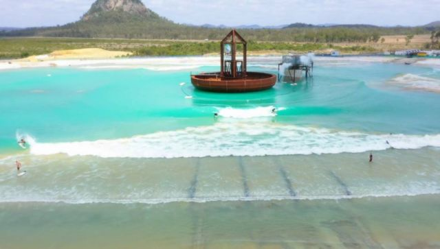 Giant Pool generates Waves for Surfers