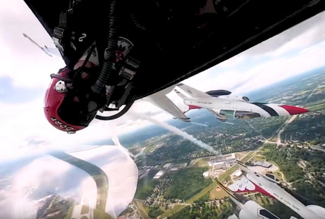 Going Supersonic with U.S. Air Force Thunderbirds