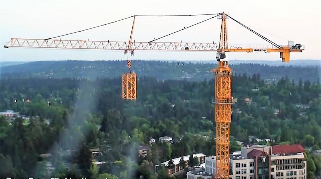 How Tower Cranes build themselves