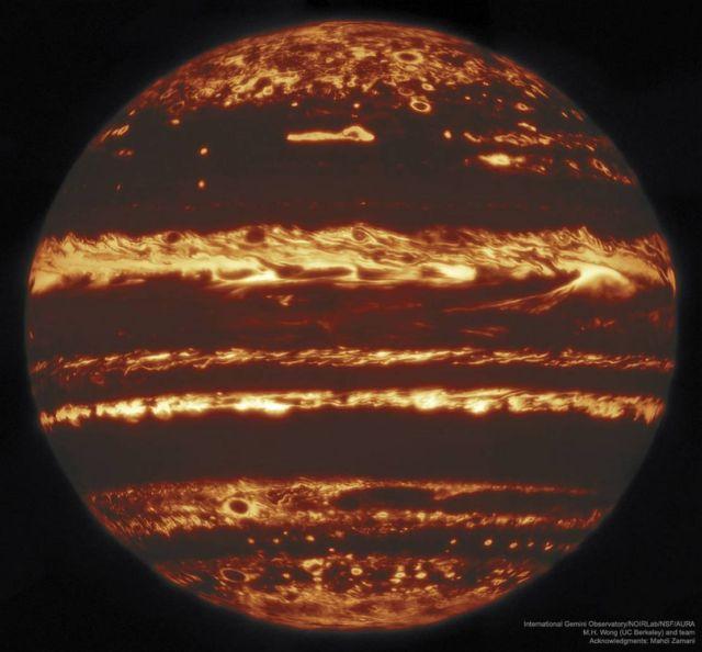 Jupiter in Infrared