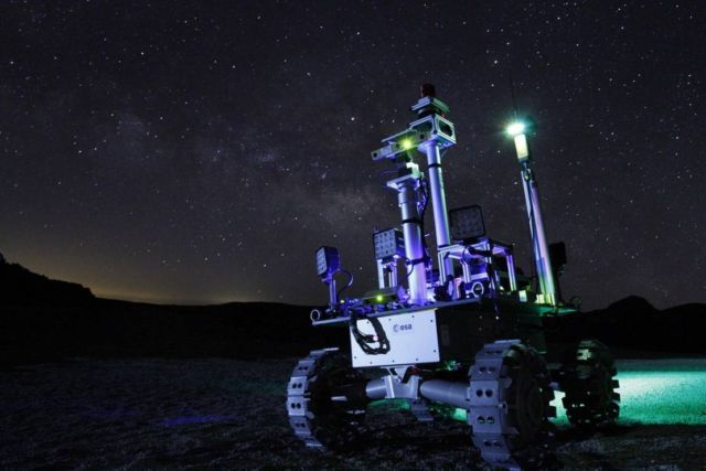 Laser-powered rover to explore Moon