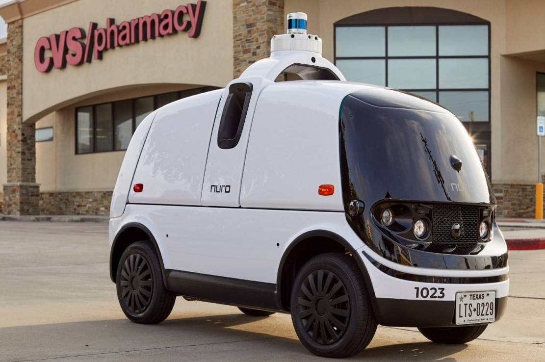 Nuro's Autonomous vehicles to deliver CVS prescriptions