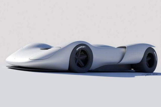 Porsche 907 Spyder Revival concept (4)