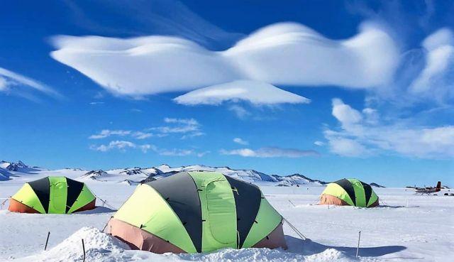 The Union Glacier Camp