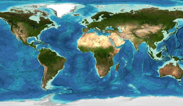 A fifth of Earth's Ocean Floor has been Mapped so far