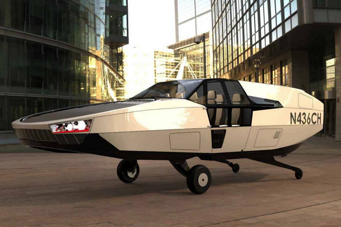 Cityhawk eVTOL flying car will run on hydrogen