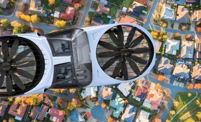 Cityhawk eVTOL flying car will run on hydrogen (5)