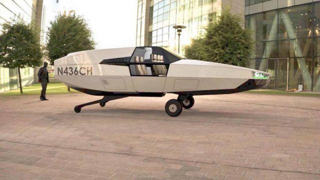 Cityhawk eVTOL flying car will run on hydrogen (4)