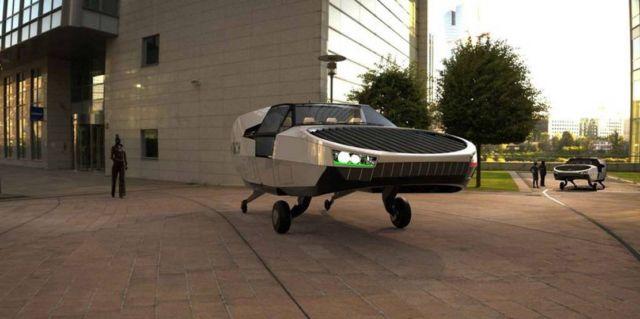 Cityhawk eVTOL flying car will run on hydrogen (3)