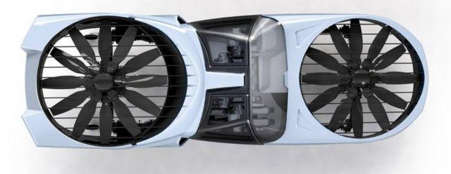 Cityhawk eVTOL flying car will run on hydrogen (2)