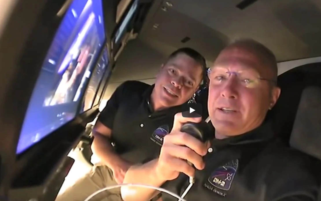 Inside the SpaceX Crew Dragon Spacecraft